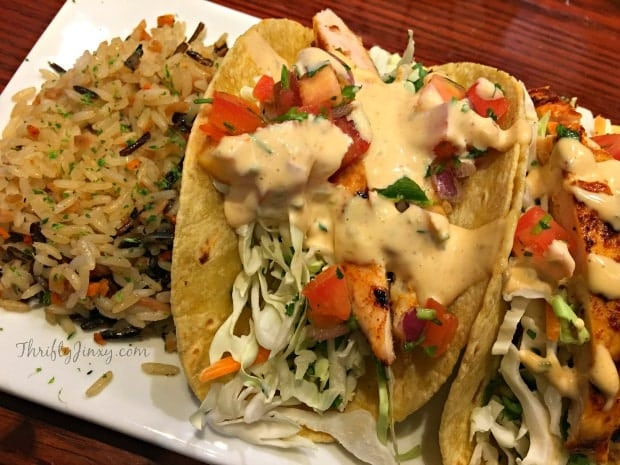 Red Lobster Wood-Grilled Tacos with Chicken