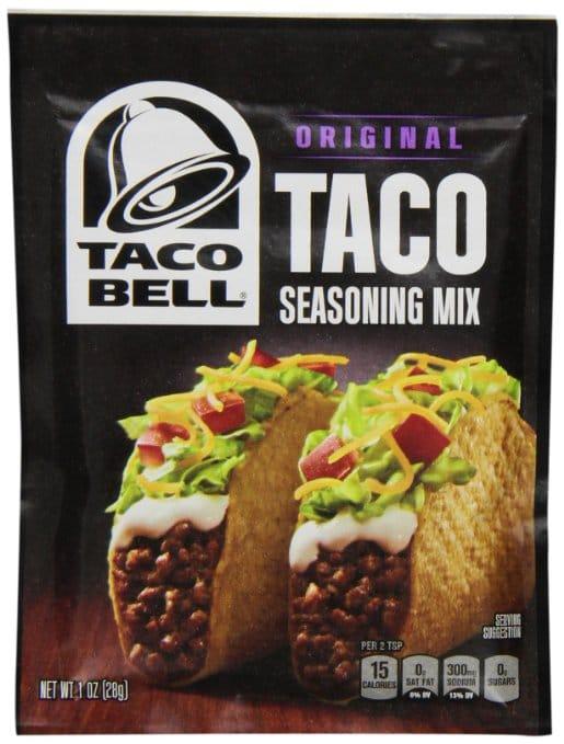 Taco Bell Seasoning Packet