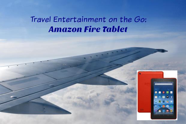 Travel Entertainment on the Go Amazon Fire Tablet