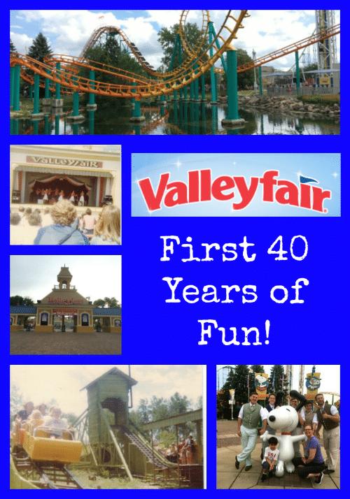 Valleyfair 40 Years of Fun