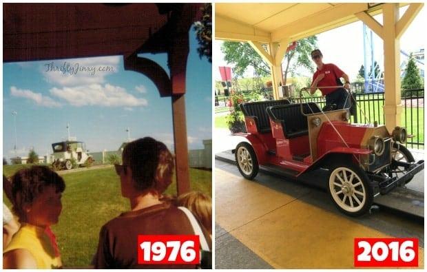 Valleyfair Antique Cars 40 Years