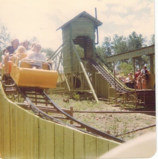 Valleyfair Jolly Green Giant Little Sprout Roller Coaster