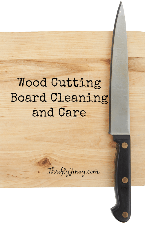 Wood Cutting Board Cleaning and Care Tips