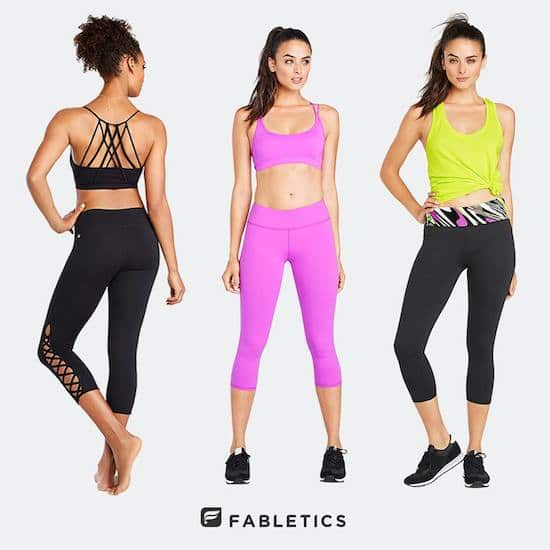 Workout Fashion on a Budget - fabletics