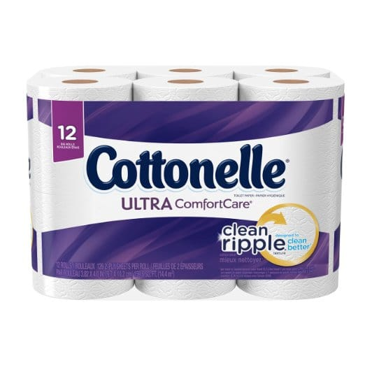 Hot Cottonelle Ultra Comfort Care 12 Pack Only 3 99