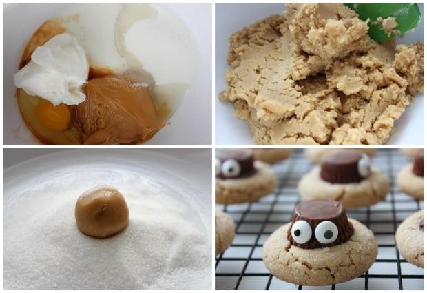 halloween-spider-cookies-recipe-process