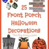 25 Amazing Halloween Front Porch Decorations