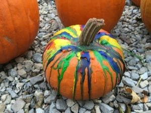 DIY Crayon Drip Pumpkin – A Fun and Festive Halloween Decoration