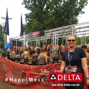 Making a Warrior Dash HappiMess with Delta