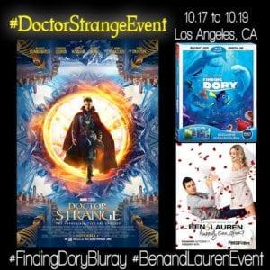 Doctor Strange Event Press Junket + More – Follow Along! #DoctorStrangeEvent