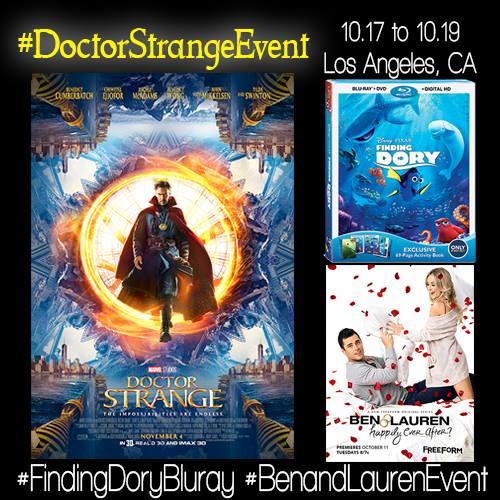 Doctor Strange Event Press Junket