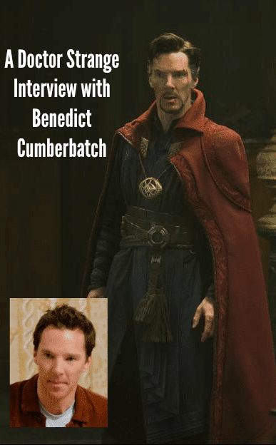 A Doctor Strange Interview with Benedict Cumberbatch