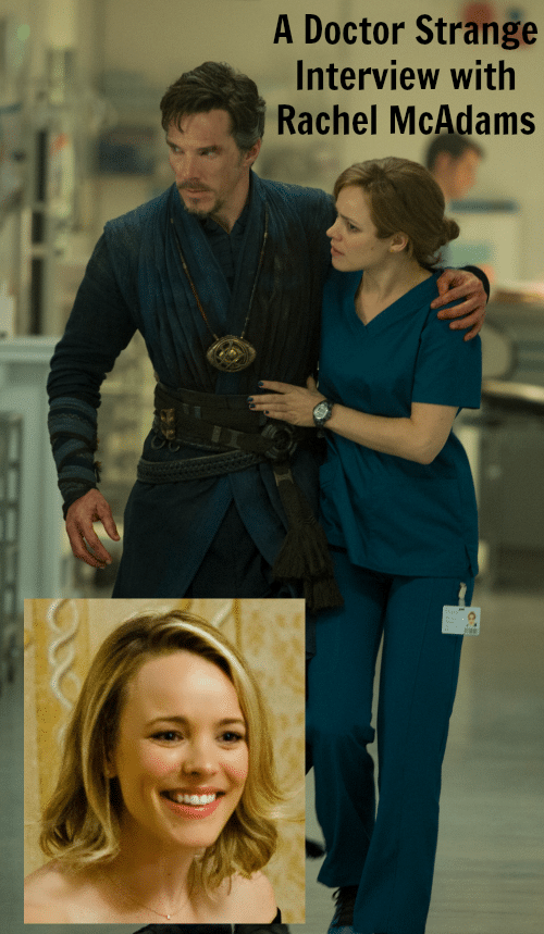 A Doctor Strange Interview with Rachel McAdams - Bringing New Fans to the Marvel Cinematic Universe