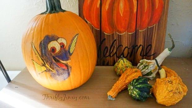 Finding Dory Pumpkin Stencil