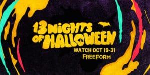 Freeform 13 Nights of Halloween Schedule 2017