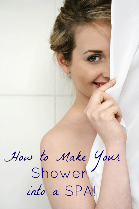 How to Make Your Shower Into a Spa