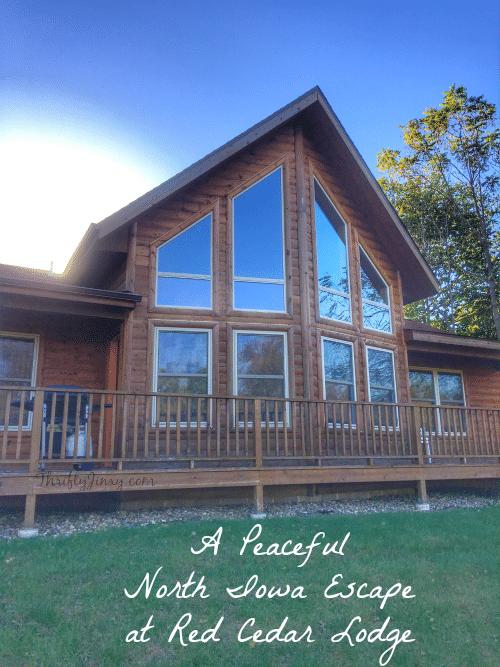 Peaceful North Iowa Escape at Red Cedar Lodge