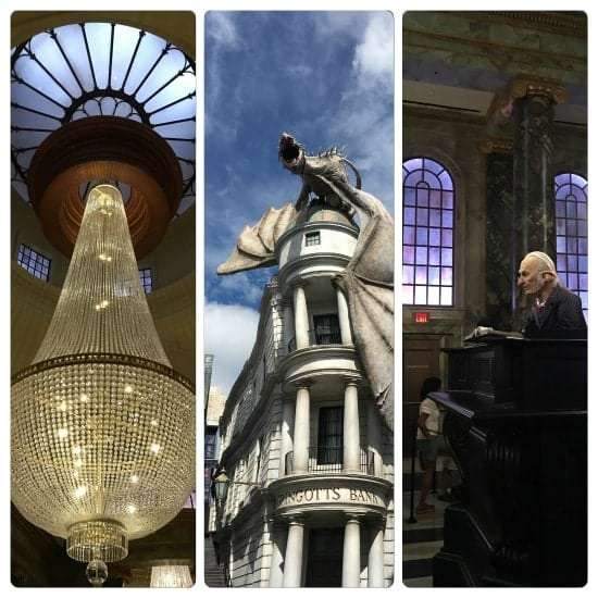 The Wizarding World of Harry Potter Escape from Gringotts
