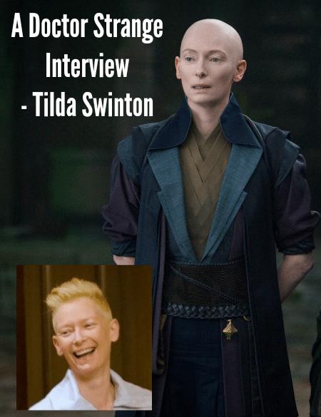 Tilda Swinton Doctor Strange Interview