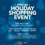 """Get """"Geeked"""" Out for the Best Buy Holiday Shopping Event!"""