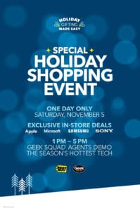 "Get ""Geeked"" Out for the Best Buy Holiday Shopping Event!"
