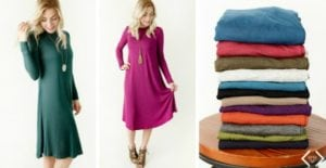 Versatile Swing Dress – Go from Summer to Fall!