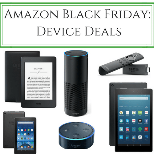 Amazon Black Friday Device Deals: Kindle, Echo, Fire