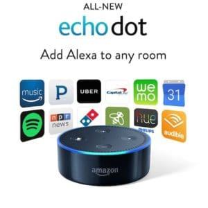 Say Hi to Alexa! Amazon Echo Dot Giveaway