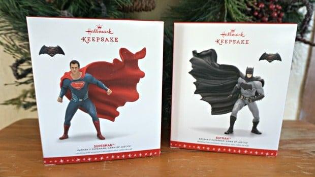 BATMAN V SUPERMAN: DAWN OF JUSTICE Hallmark Keepsake Ornaments
