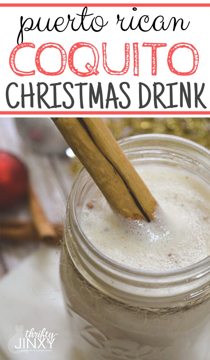 Coquito Puerto Rican Christmas Drink