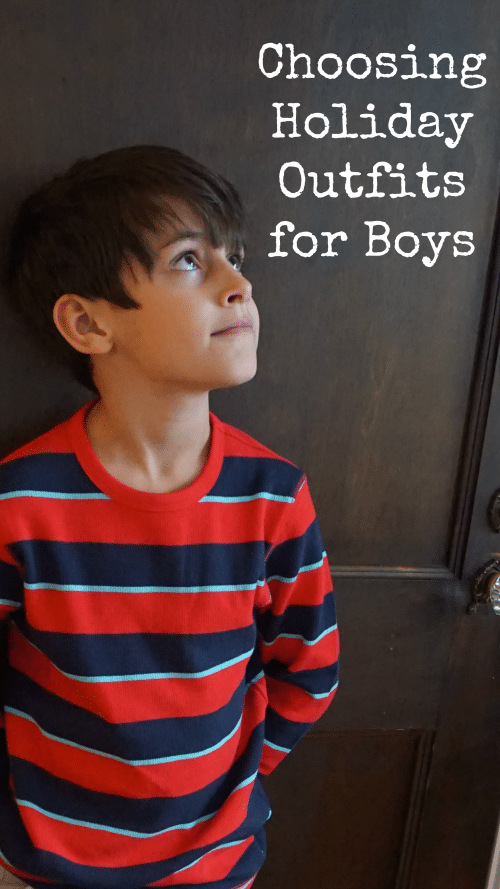 Holiday outfits for boys 50 oshkosh b gosh gift card giveaway