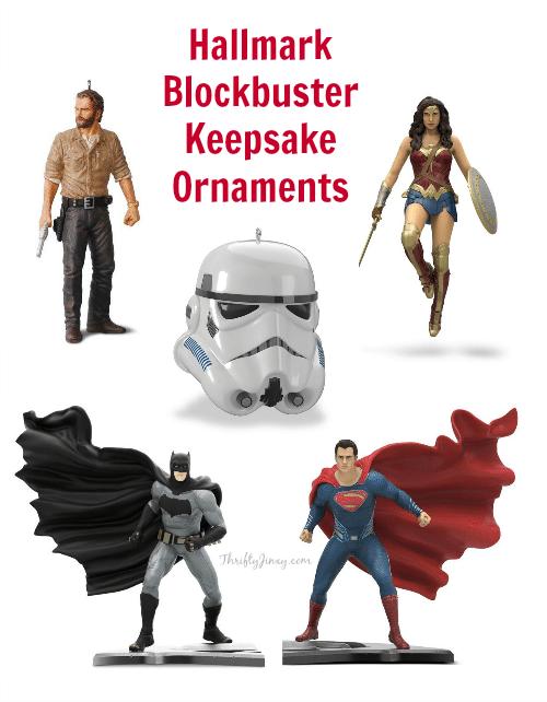 Hallmark Blockbuster Keepsake Ornaments
