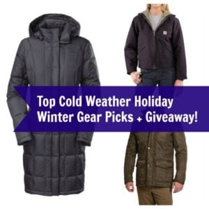 Top Cold Weather Holiday Winter Gear Picks + Giveaway