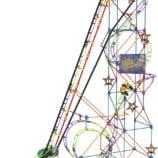K'NEX Wild Whiplash Roller Coaster – STEM Building Fun