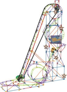 K'NEX Wild Whiplash Roller Coaster – STEM Building Fun