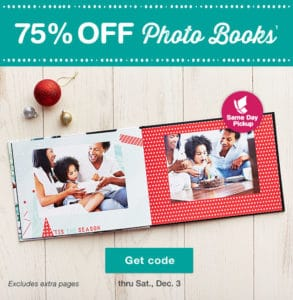 75% Off Photo Books At Walgreens