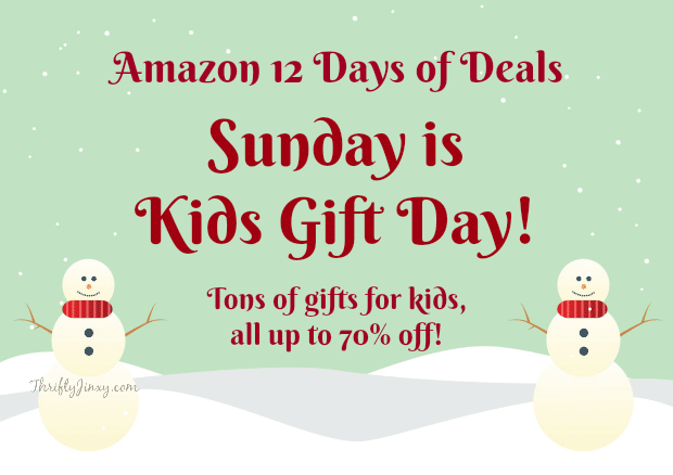 Amazon: Kids Gift Day Up to 70% off!