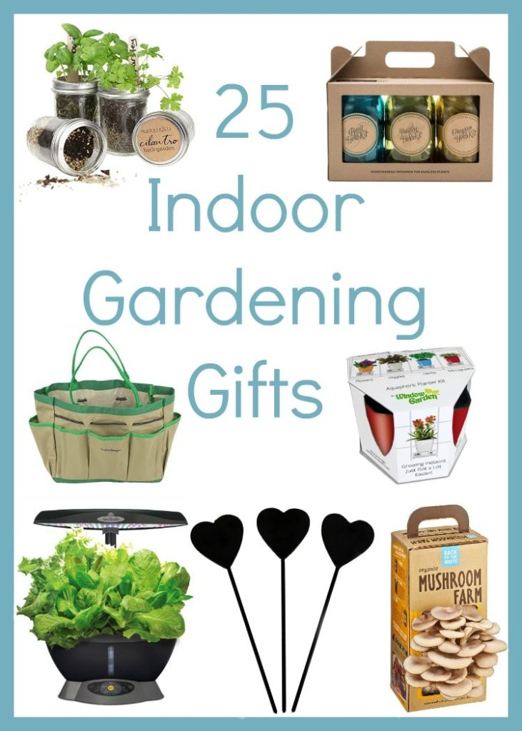 Make any gardener happy all winter long with this list of the Best Indoor Gardening Gifts. Perfect for winter months in cold climates or for those with no outdoor space.