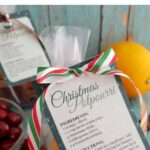 Christmas Potpourri with Printable Labels