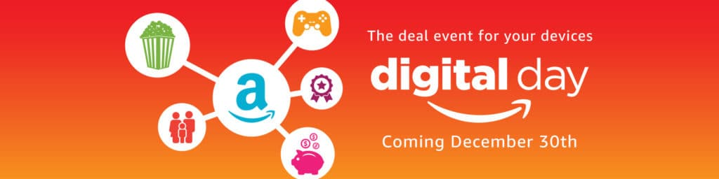 Amazon Digital Day- One Day Sale 50% Off