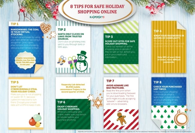 Let Kaspersky Online Security Keep Your Family Safe infographic