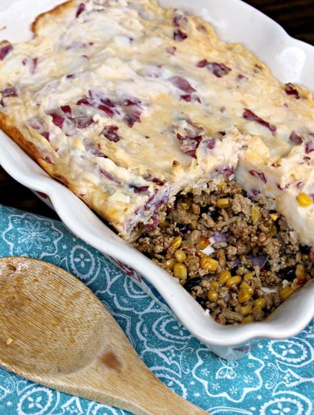 Make Ahead Southwestern Shepherd's Pie Recipe casserole 3