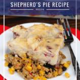 Make Ahead Southwestern Shepherd's Pie Recipe