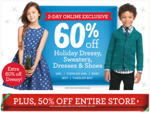 Gymboree 50% off Sale – Holiday Apparel as Low as $11