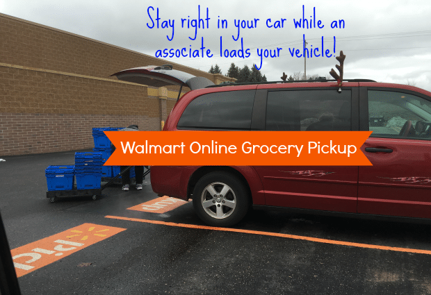 walmart online grocery pickup vehicle loading