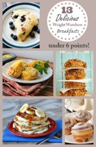 13 Delicious Weight Watchers Breakfast Recipes – All Under 6 Points!