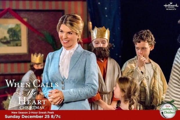 When Calls The Heart Christmas.Hallmark Channel S When Calls The Heart Christmas Airs 12 25