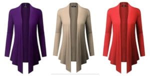 Women's Lightweight BILY Cardigans As Low as $8.99 Shipped!
