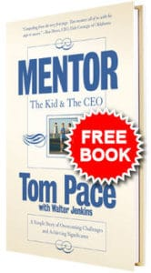 """Get a FREE Copy of the Book """"Mentor: The Kid and the CEO"""""""