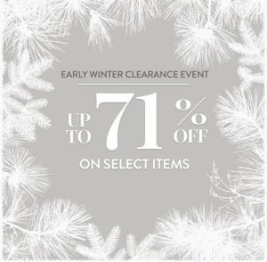 Rachel Ray 71% Off Winter Clearance Event – Live Now